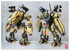 mover- (blas-T) Tags: lego suite armour mecha meka esoseletron