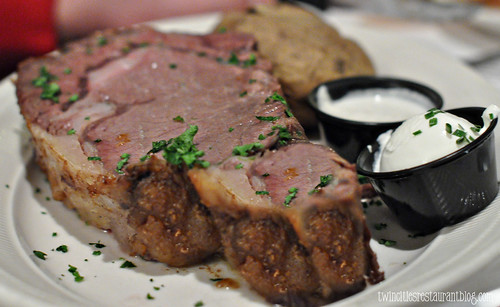 King Cut Prime Rib at Kozlak's Royal Oak ~ Shoreview, MN