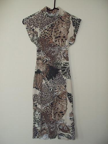 African Animal Print Dress