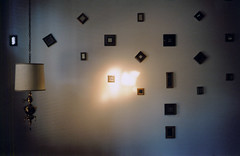 light and mirrors (scott w. h. young) Tags: light love film lamp wall 35mm mirror magic shimmer