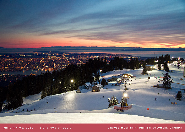 Grouse Mountain, British Columbia, Canada