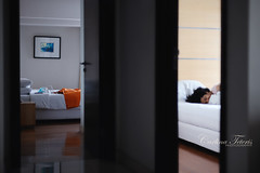 perfect light of morning (cteteris) Tags: morninglight bed apartment sleep weekend 50mm14 indoors lazy jakarta rest sleepingin nikond700