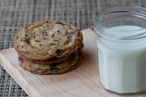 mapled choc chip cookies 3