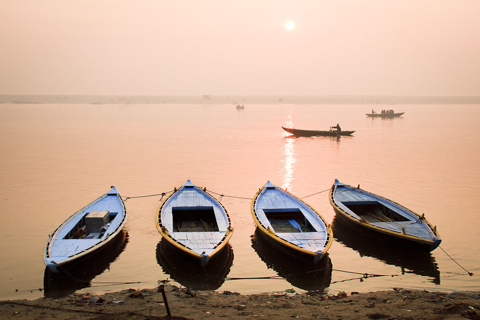 Travel Photos: The Ganges at Sunrise, India