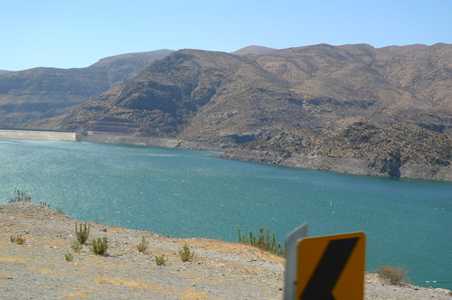 Storage Lake - Elqui Valley - Near Vicuna, Chile