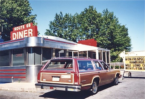 Route 66 Diner 1995 - Springfield MA