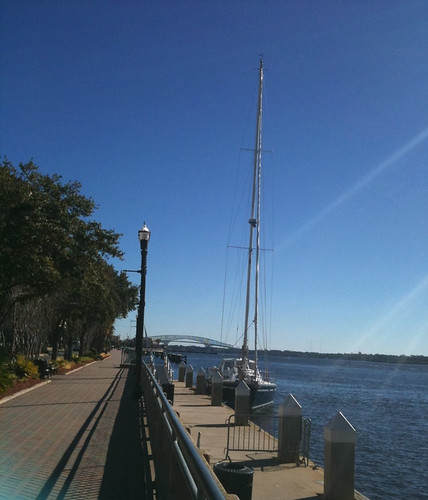 RobinLeigh tied up at Jacksonville Landing