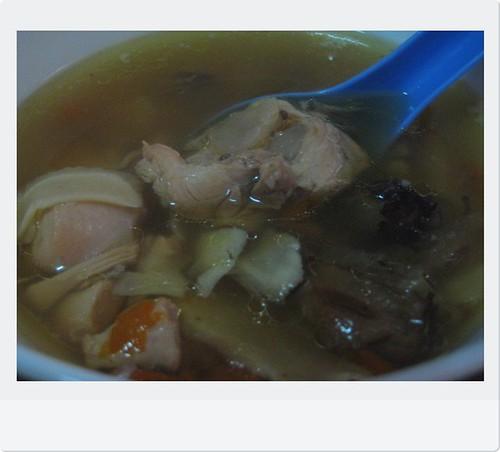 野泡参炖马来鸡汤