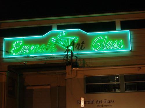 Emerald Glass - Pittsburgh PA