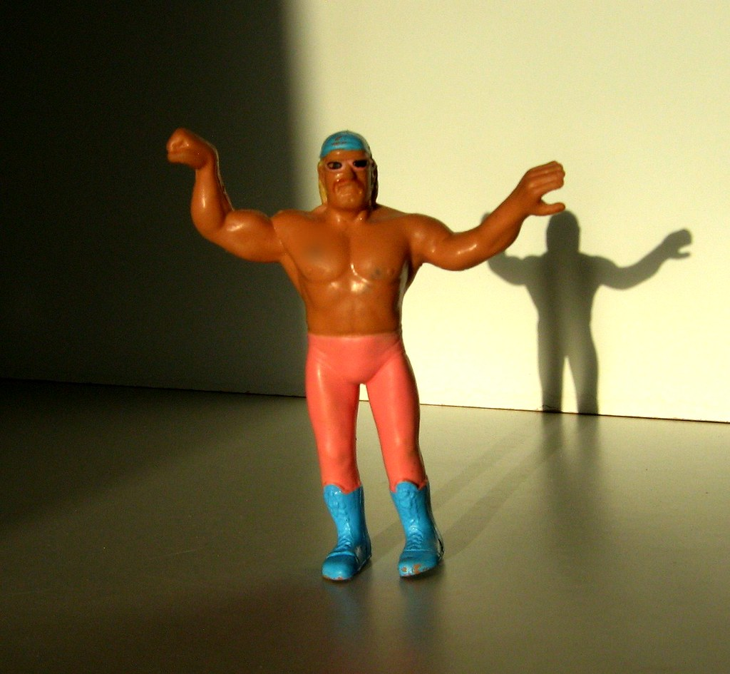 LJN Toys - Wrestling Superstars: Bendies; Jesse 'The Body' Ventura