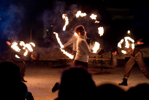 Fire circus Walkea