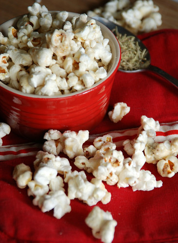 Maple-Rosemary Popcorn