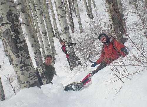 Snowshoe Antics at Beaver Creek