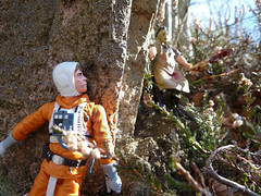 Hide the force (Doc Moriarty) Tags: forest toy force leatherface chainsaw jedi lukeskywalker hunt