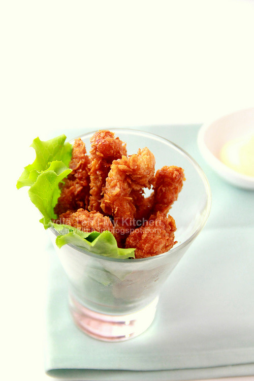 Corn Flakes Fried Chicken