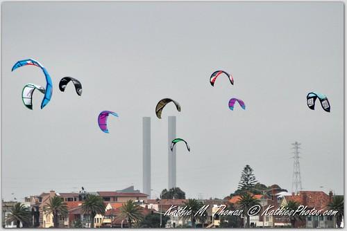 Wind surf kites