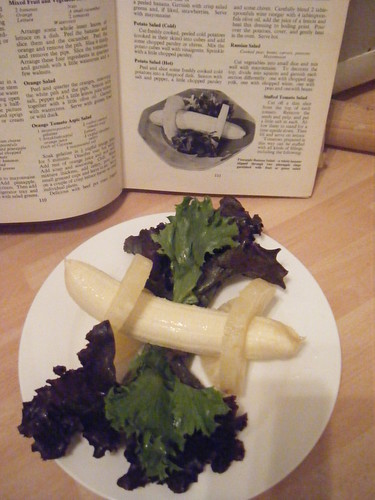 sixties banana salad