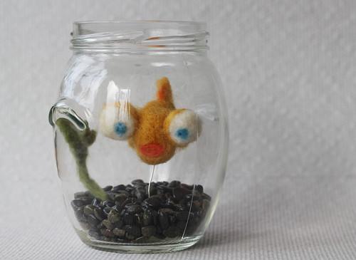 Oh Felted Goldfish!