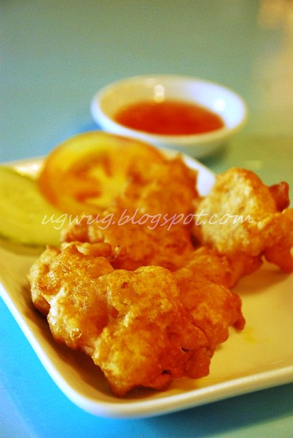 Dried Prawns (Heh Bee) Fritters