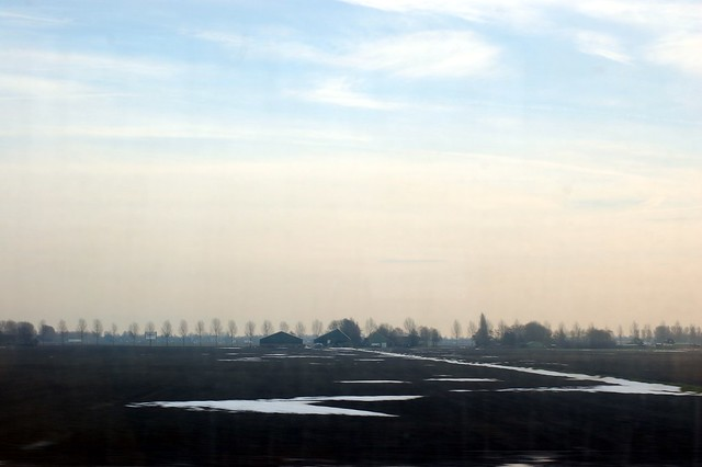Between Amsterdam and Rotterdam