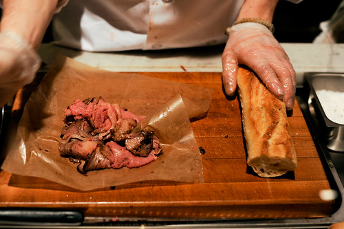 Roast Prime Rib Sandwich, Paninoteca, Eataly