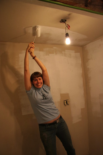 painting the ceiling