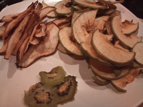 Dried Pears, Apples, And Kiwi