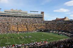 Folsom Field, home of Colorado University football (Hazboy) Tags: red usa west field america us colorado university texas tech folsom boulder western buffs buffaloes raiders ttu big12 hazboy h