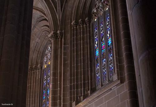 Cada vitral é uma obra de Arte