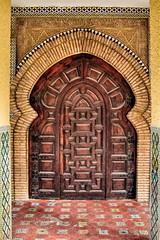 La puerta árabe (basajauntxo) Tags: spain puerta huelva andalucia arabe punta entrada arco umbria portada herradura arabescos basajauntxo