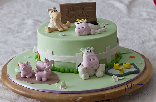 Animla farm cake-1