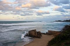there may be ruins (gcarmilla) Tags: sea sky beach sand ruins mare waves puertorico cielo caribbean spiaggia oceano sabbia caribe rovine caraibi