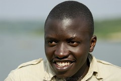 Portrait III (Makgobokgobo) Tags: africa portrait people ivan uganda kazinga queenelizabeth mweya queenelizabethnationalpark qenp kazingachannel kazingafishingvillage kazingavillage