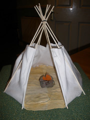 Tipi project - the fire