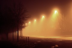 nightmare (donchris!) Tags: mist fog night lights long exposure nebel nightshot nacht nights nachts mga