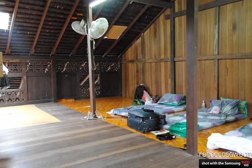 Iban longhouse, sarawak cultural village-10