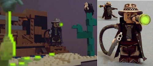 Custom minifig The Paranormal Gunslinger for Ugly Duckling at Bricklink January Contest