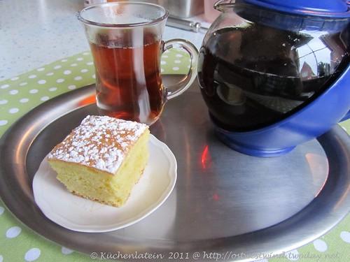 Orangenkuchen zum Tee