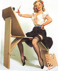 gil elvgren girls (bballchico) Tags: gilelvgren girls models images calendar pinups 1958 art artwork artist