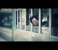 the window (millan p. rible) Tags: street hk cinema canon movie hongkong still candid tram stranger cinematic thewindow 70200l canonef70200mmf28lisusm canoneos5dmarkii 5d2