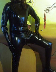 IMAG0017 (Karhu1) Tags: rubber latex gummi lycra catsuit overall