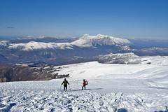 Scialpinismo Laga - Pizzo di Sevo da Collalto