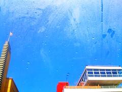 Bus excursion. (Sascha Unger) Tags: street urban cinema bus berlin art window wet glass rain shop architecture mall shopping germany store kino traffic angle fenster forum perspective stadt sascha architektur artdeco verkehr glas regen perspektive titania handel iphone kaufhaus nass steglitz bvg schlossstrasse einkaufszentrum forumsteglitz titaniapalast sascha2010 saschaunger