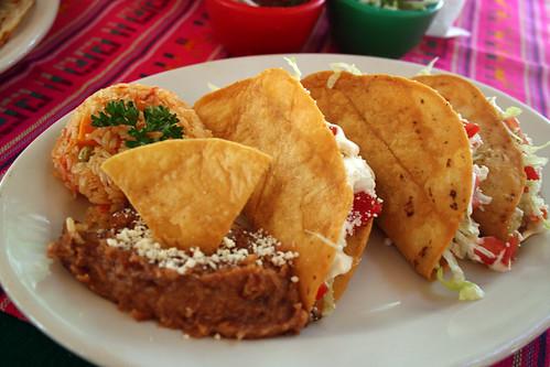 Todos Santos - Tacos de Papas at Las Fuentes