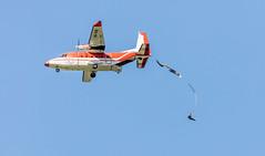Jump!!!  Flickr Explore #239 26sep16 (Peta Jade) Tags: richmondlowlands outdoors photography parachute sky jump aeroplane
