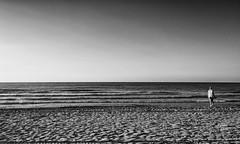 Adriatico (Riccardo Palazzani - Italy) Tags: jesolo sunrise alba dawn sea sun lido veneto italy beach bw sand italia italie italien   itlia itali  italya   riccardo palazzani veridiano3 olympus omd em1   aube  amanecer morgendmmerung amanhecer  spiaggia shore strand playa  praia    plage  areia sabbia sable arena    mare mer   meer