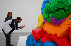 NOW: Jeff Koons, at the Newport Street Gallery (neil mp) Tags: now jeffkoons newportstreetgallery damienhirst koons art sculpture playdoh aluminium polychrome celebration 2016 riba stirlingprize carusostjohn googleimages