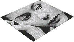 Audrey Tautou - LEGO Mosaic (rasesp) Tags: audreytautou tautou lego mosaic mosaico amliepoulain amelie