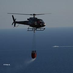 Italian fire department (heikecita) Tags: hubschrauber pisciotta italy fire feuer meer ocean nikon d7200 helicopter cilento kampanien italien