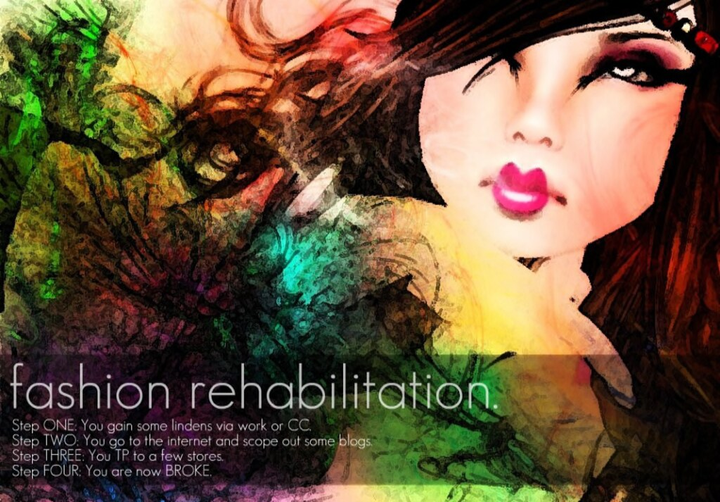 Fashion Rehabilitaton Poster